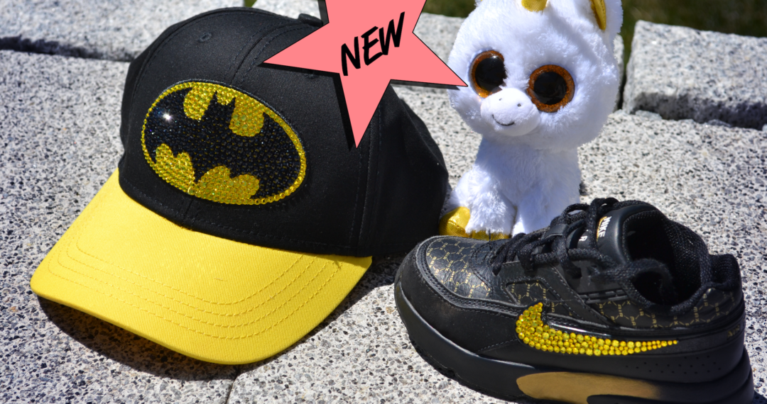 Batman Cap, One Size, Swarovski