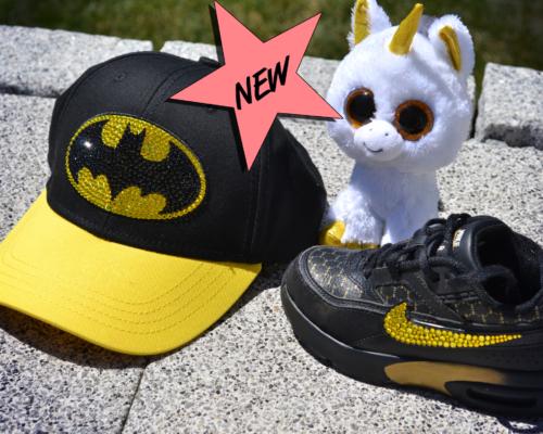 Batman Cap, One Size, Swarovski